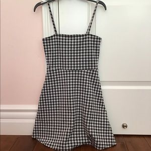 NWOT Checkered dress